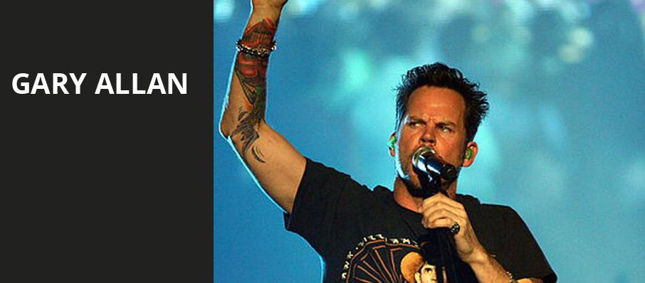 Gary Allan, US Cellular Center, Cedar Rapids